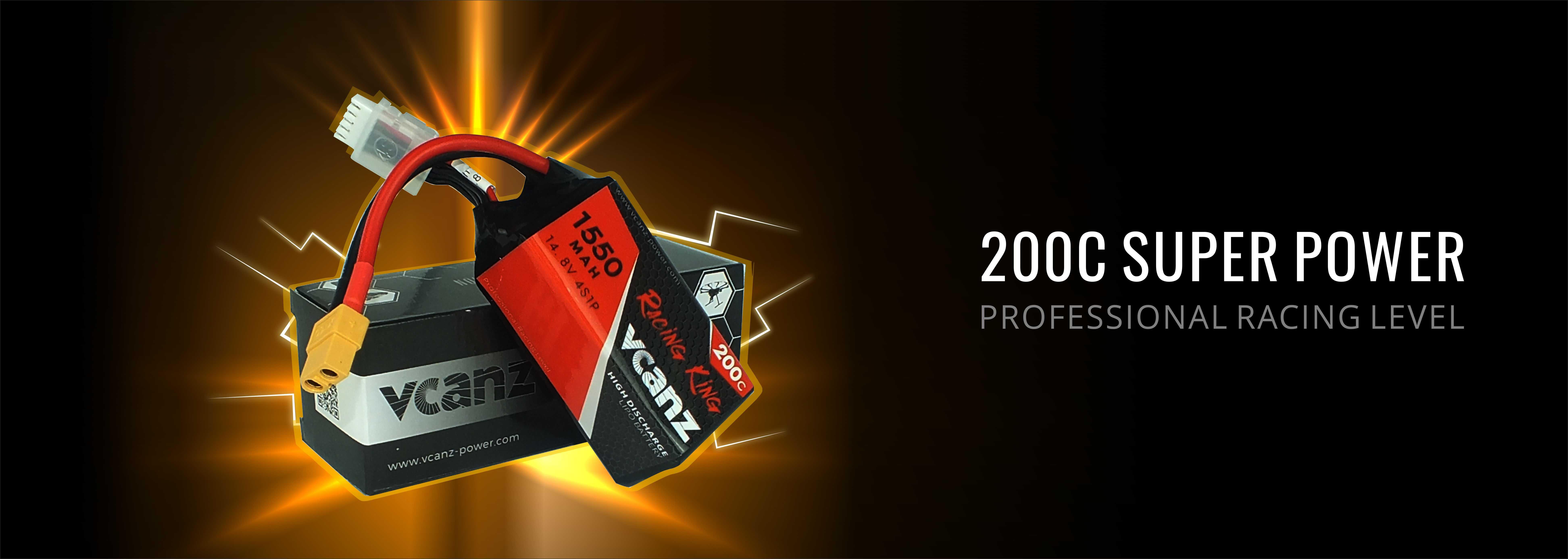 Vcanz 200C Lipo Battery