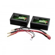 65C 5000mah 7.4V lipo Vcanz Power 2S3P 65C lipo for 1/10& 1/8 scale cars