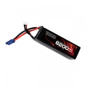 35C 6200mah 22.2V lipo Vcanz Power 6S 35C lipo for  500-size to 600-size multirotor