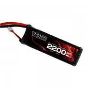 65C 2200mAh 22.2V lipo Vcanz Power 6S 65C lipo for 450-size Helicopter, T-REX 450/450L