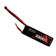 65C 3300mAh 22.2V lipo Vcanz Power 6S 65C lipo for 500-size Helicopter, 600-size Helicopter, Blade 500, Goblin 570, T-REX 500/500L, T-REX 600/600L, TSA 600E