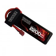 65C 2200mAh 7.4V lipo Vcanz Power 2S 65C lipo for 450-size Helicopter, Blade 450X, Chase 360, Gaui X3, T-REX 450/450L