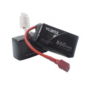 35C 860mAh 11.1V lipo Vcanz 3S 35C lipo for Oxy 3, QAV250