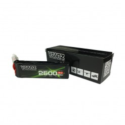 2500mAh 2s,7.4v 2500mah 3c,RX lipo,JR,Futaba plug lipo,Vcanz Power Flat 2500mah 2s for Receiver