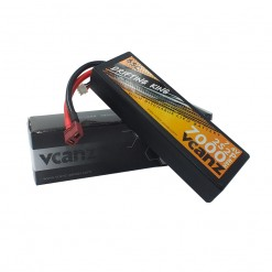 65C 7000mah 7.4V lipo Vcanz Power 2S 65C lipo for 1/10& 1/8 scalecars