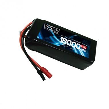 25C 16000mAh 22.2v lipo Vcanz Power 6S 25C lipo FOR DJI S800 EVO,DJI S1000