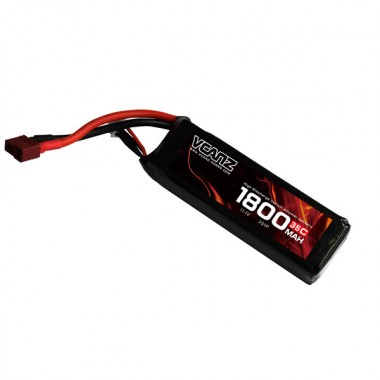 35C 1800mAh 11.1V lipo Vcanz Power 3S 35C lipo for 300-size Helicopter, Mojo 280