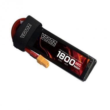 35C 1800mAh 14.8V lipo Vcanz Power 4S 35C lipo