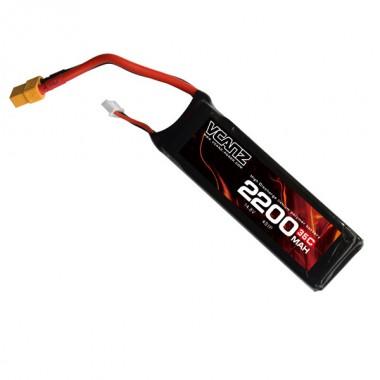 35C 2200mAh 14.8V lipo Vcanz Power 4S 35C lipo for Flamewheel 450