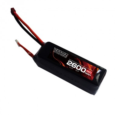 45C 2600mAh 22.2V lipo Vcanz Power 6S 45C lipo for Helicopter, Blade, T-REX