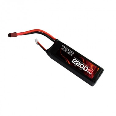 65C 2200mAh 11.1V lipo Vcanz Power 3S 65C lipo for 450-size Helicopter, Blade 450X, Chase 360, Gaui X3, T-REX 450/450L
