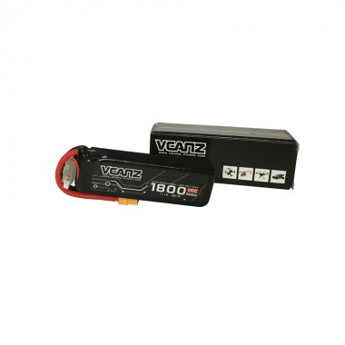 45C 1800mAh 11.1V lipo Vcanz Power 3S 45C lipo for Mojo 280