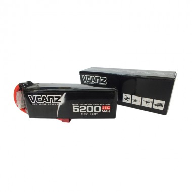 35C 5200mah 14.8V lipo Vcanz Power 4S 35C lipo for  Flamewheel 450, Flamewheel 550