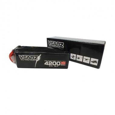 45C 4200mAh 22.2V lipo Vcanz Power 6S 45C lipo for  550-size Helicopter, 700-size Helicopter, Blade 550X, Gaui X5, Goblin 500, T-REX 700/700L, TSA 700E