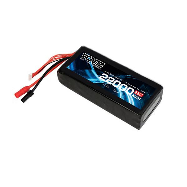 25C 22000mAh 22.2v lipo Vcanz Power 6S 25C lipo FOR DJI S1000