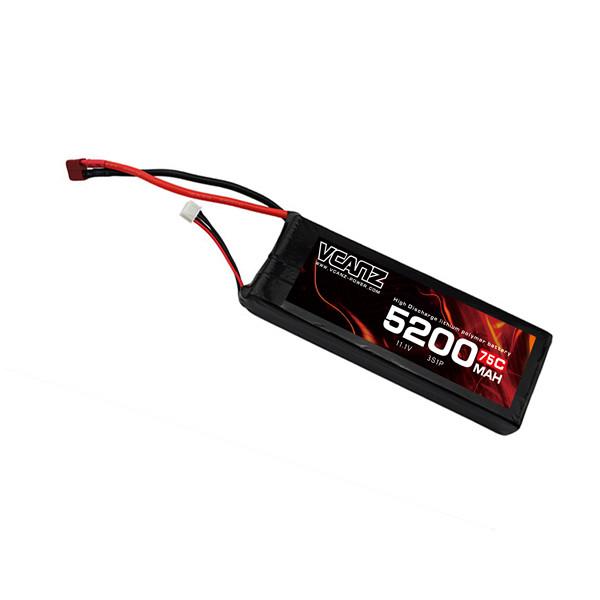 75C 5200mah 11.1V lipo Vcanz Power 3S 75C lipo
