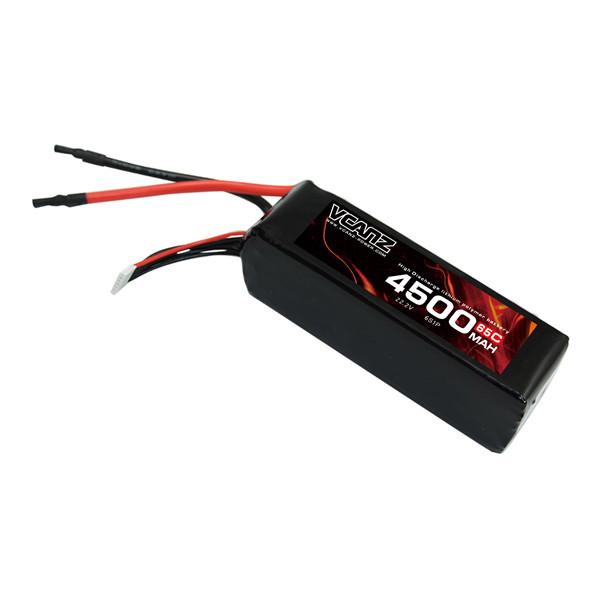 65C 4500mAh 22.2V lipo Vcanz Power 6S 65C lipo
