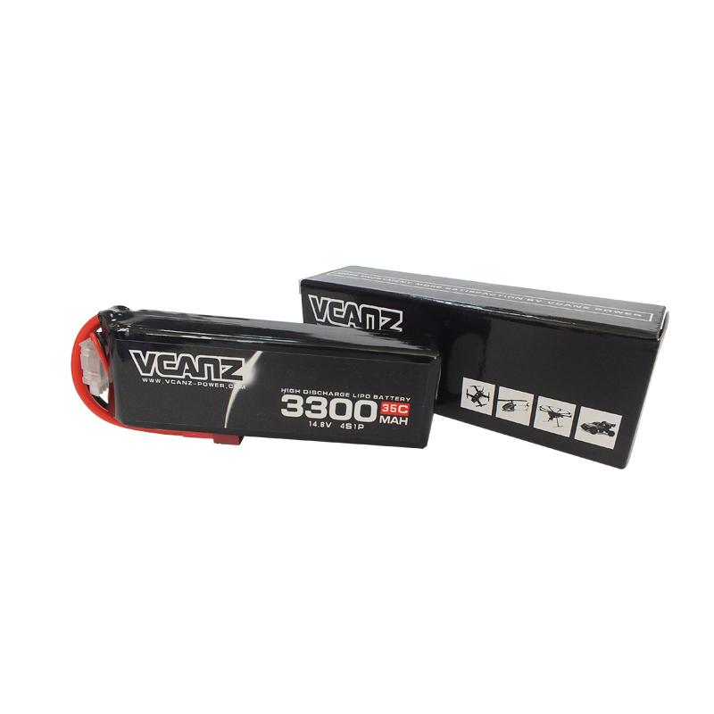 35C 3300mAh 14.8V lipo Vcanz Power 4S 35C lipo