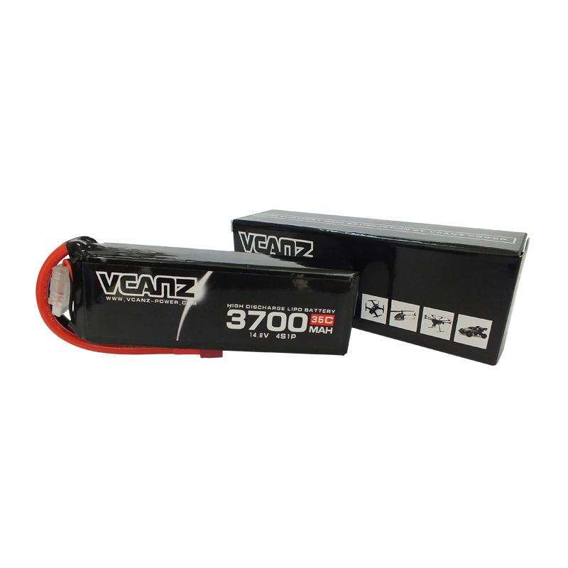 35C 3700mAh 14.8V lipo Vcanz Power4S 35C lipo for Flamewheel 450, Flamewheel 550