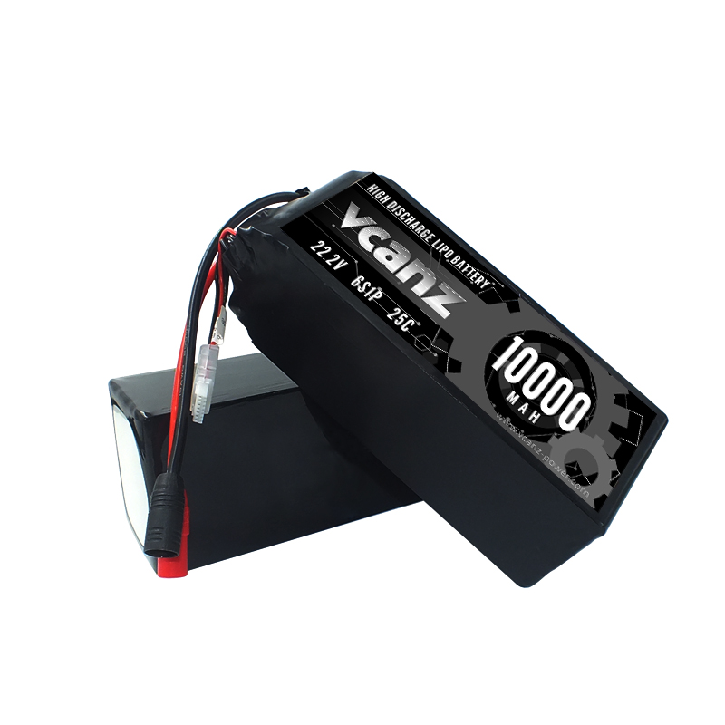 25C 10000mAh 22.2v lipo Vcanz Power 6S 25C lipo FOR DJI S800,DJI S800 EVO